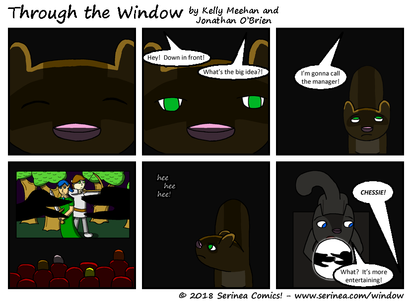 "Page #12: ""Down in front!"""