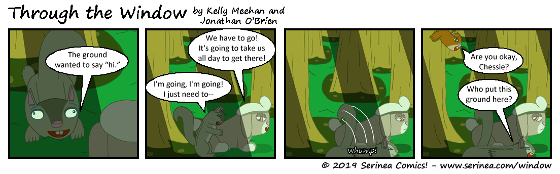 "Page #94: ""We have to go!"""